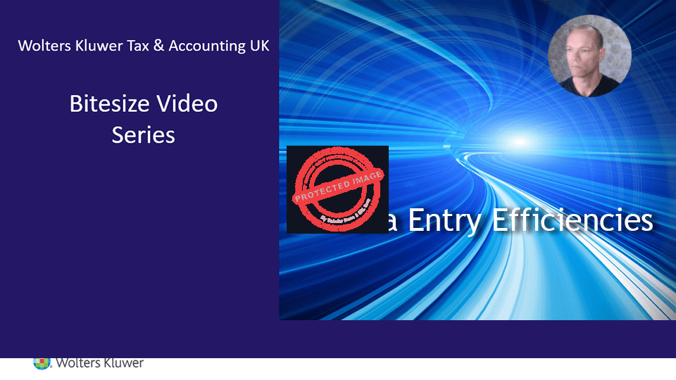 CCH Accounts Production: Efficient Data Entry