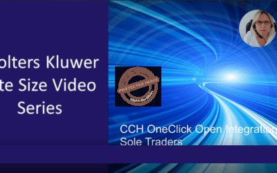 CCH OneClick – Open Integration for Sole Traders