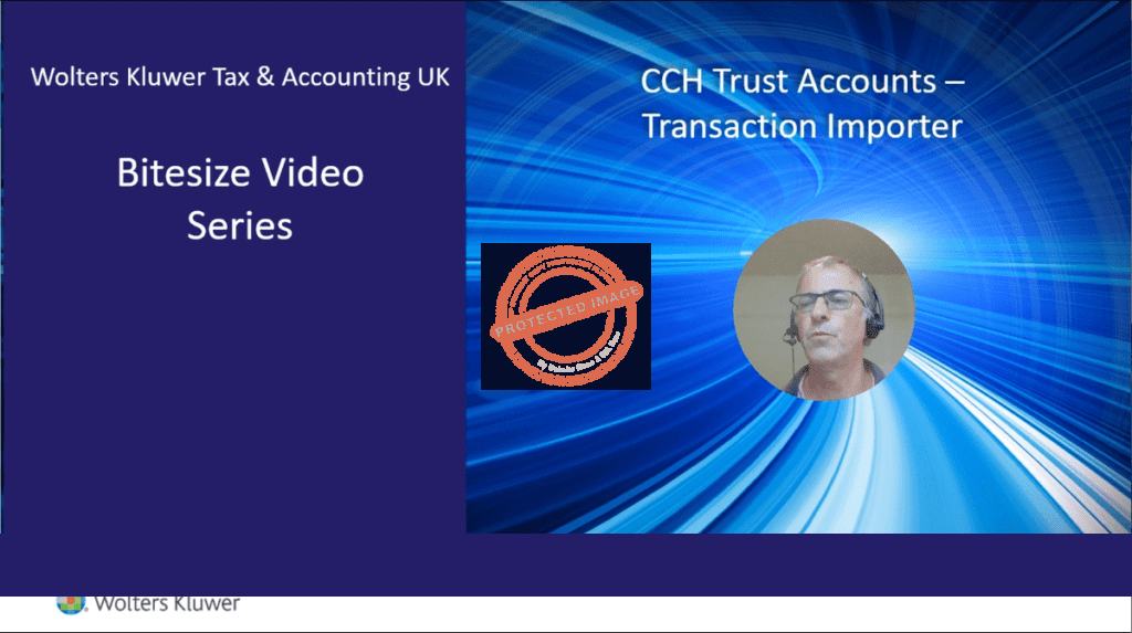 CCH Trust Accounts – Transaction Importer