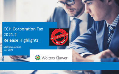 CCH Corporation Tax 2021.2