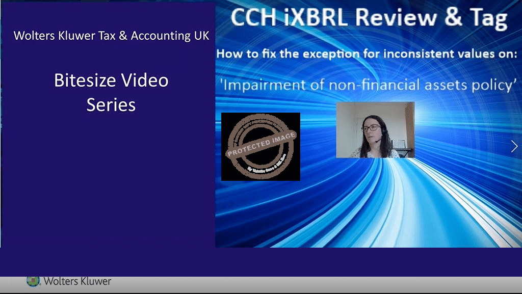CCH IXBRL Review and Tag