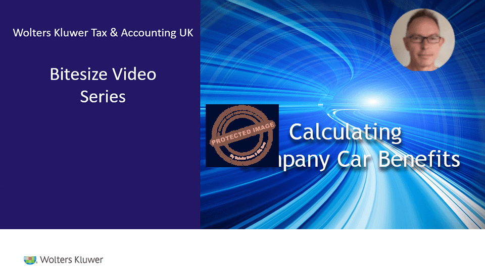 CCH Personal Tax: Calculating Company Car Benefit