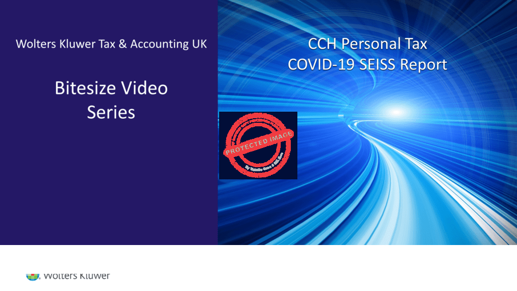 CCH Personal Tax COVID-19 SEISS Report